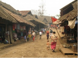 Daily Conditions in a Burmese Refugee Camp