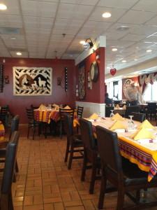 El ambiente del restaurante era muy auténtico