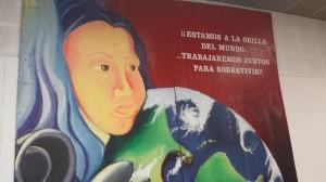 Un mural inspirador para animar la communidad