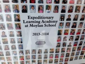 Una lista de los estudiantes que se muestra que muchos de los hispanos en Hartford crean en la importancia de una educación