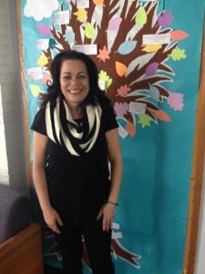 Carol Correa de Best, la directora de la oficina de asuntos multiculturales en Trinity College.