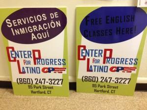 Los servicios que ofrecen en el Center for Latino Progress