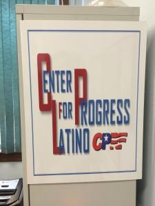 Este es el logo de la organización que visitamos.