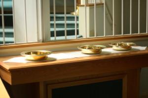 La mesa de la comunión