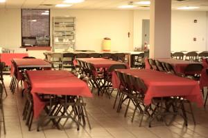 La gran sala para comer