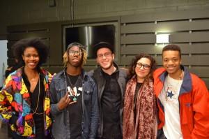 Participantes de Hip Hop Festival