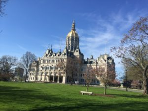El Capitolio representa el centro de la política en Hartford
