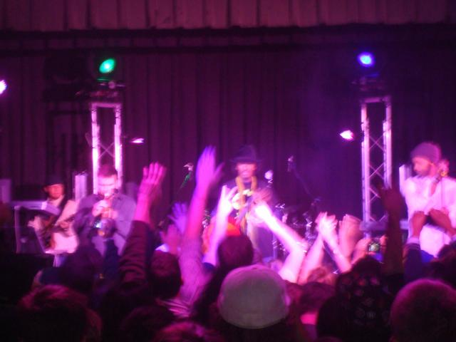 Knaan at the festival